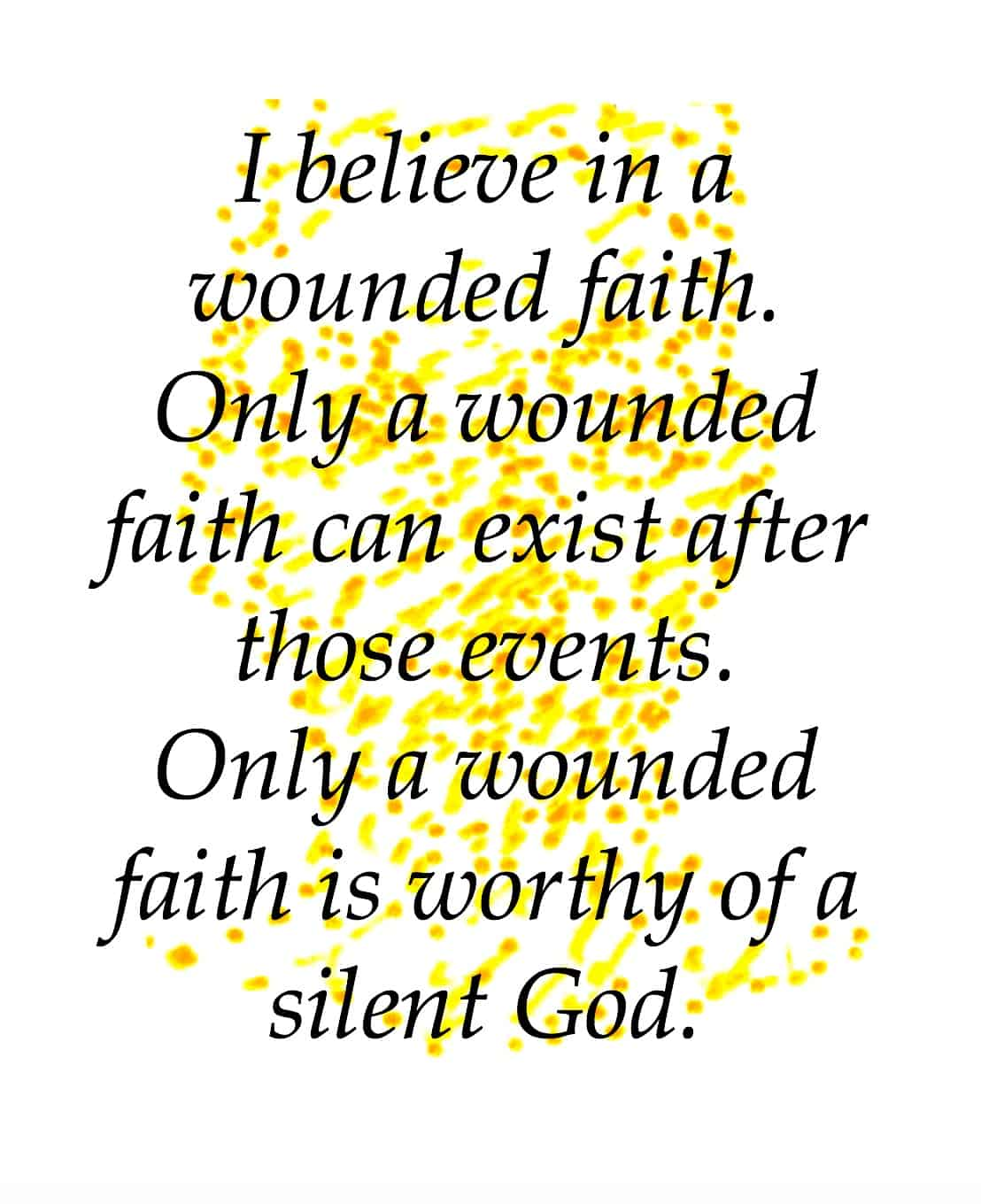 wounded faith